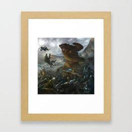 Five Armies Framed Art Print