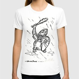 Norman Warrior-Bishop, as an Ape T-shirt