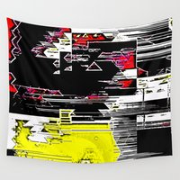 internet Wall Tapestries featuring Internet Rash by tastypaper