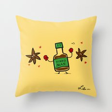 Soy Sauce & Anise Throw Pillow