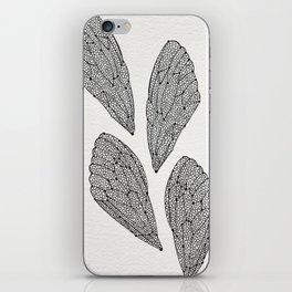 Black Cicada Wings iPhone Skin
