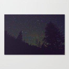 Stars in Yosemite Canvas Print