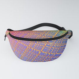 Abstract pattern or background of confetti. Background for holiday package or decoration. Fanny Pack