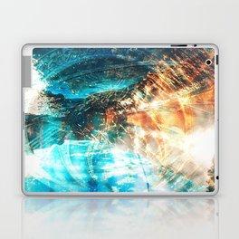 Shining Spirals Laptop & iPad Skin