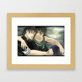 heero duo Framed Art Print