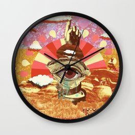 AFTERNOON PSYCHEDELIA (REDUX) Wall Clock
