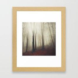 woodland whispers Framed Art Print