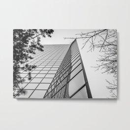 Buildings in b&w #3 Metal Print