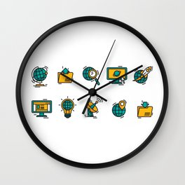 The Internet Wall Clock