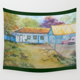 Country house Wall Tapestry