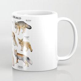 Foxes of the World Coffee Mug