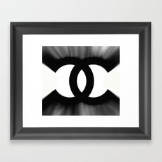 B&W Fashion C Framed Art Print