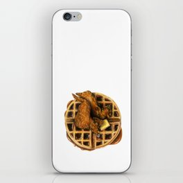 Chicken and Waffles iPhone Skin