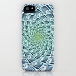 Phyllotactic Ice iPhone Case
