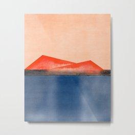 Minimal Landscape 12 Metal Print
