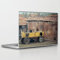 country Laptop & iPad Skins featuring Country  by Nevena Kozekova