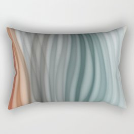 Pretty Pastel Bands Rectangular Pillow