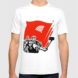 selfie youth of today T-shirt