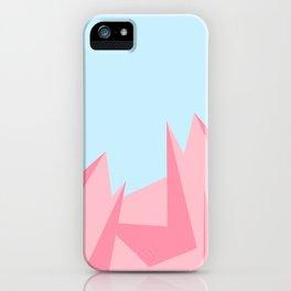 Cotton Candy Fractals iPhone Case