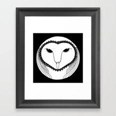 Oowll Framed Art Print