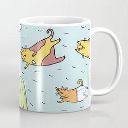Cats in the Sky Coffee Mug