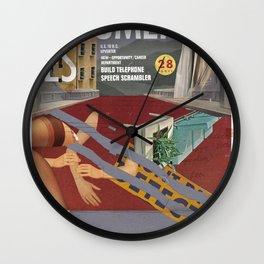 Vans and Color Magazine Customs Wall Clock