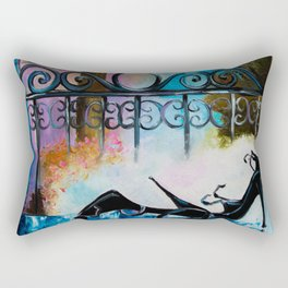 Romantic date in Paris Rectangular Pillow