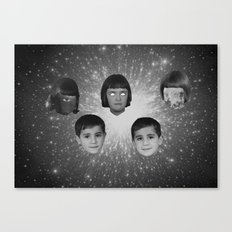 space face Canvas Print