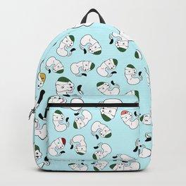Mustelid xmas pattern #1 Backpack