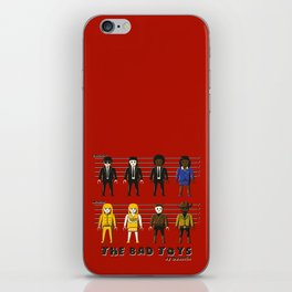 The bad toys iPhone Skin
