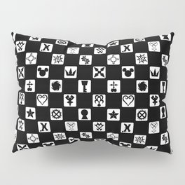 Kingdom Hearts Grid Pillow Sham