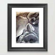 Woman 3 Framed Art Print