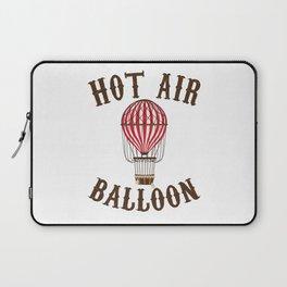 Hot Air Balloon Retro Balloonist Pilot Ballooning Laptop Sleeve