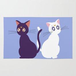 Luna & Artemis - Blue Rug