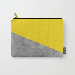 Geometry 101 Vivid Yellow Carry-All Pouch