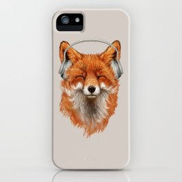 The Musical Fox iPhone Case