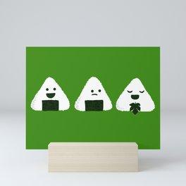 Nude Onigiri Mini Art Print