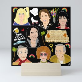 Three's Company Universe Mini Art Print