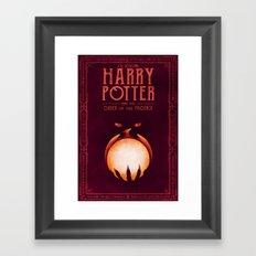HP Book 5 (Book Cover) Framed Art Print