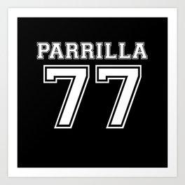 Parrilla 77 Art Print