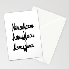 NM Drip (black only) Stationery Cards