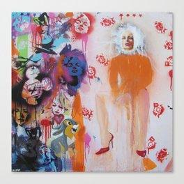 Mrs Robinson 568 Canvas Print