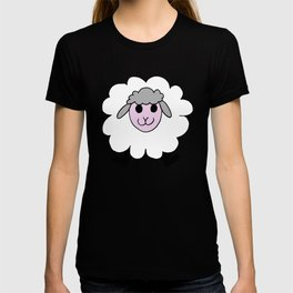 Hand drawing of a funny looking sheep T-shirt