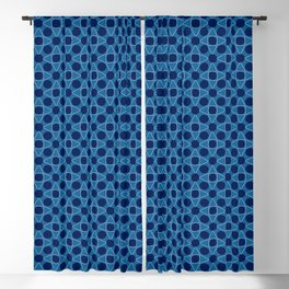 Triangles and Circles Blackout Curtain