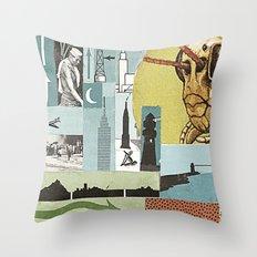 Arm Hopper Throw Pillow