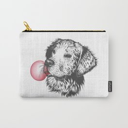 Bubble Gum Dog Carry-All Pouch