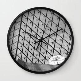 The Lone Umbrella - Look Up Series Wall Clock
