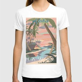 Aloha Hawaii Travel Poster T-shirt