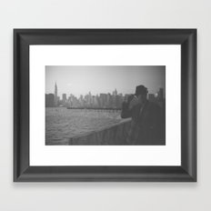 Jimmy Jam (2 of 2) Framed Art Print
