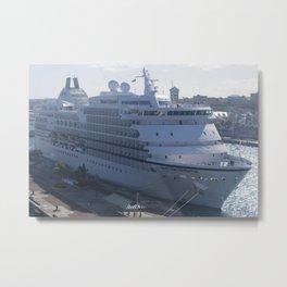 Bahamas Cruise Series 100 Metal Print